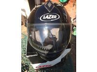 Lazer motorbike helmet