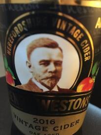 Free Henry westons empty cider bottle