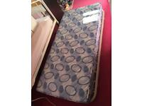 Single underbed/trundle with mattress