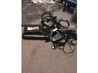 SKY Satellite equipment - router, cables, remote control, sky box, eye, hdmi cables,