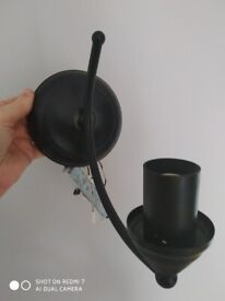 Cast iron look ceiling light fittings with matching wall lights
