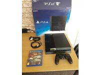 PS4 Boxed with game