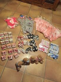 job lot of baby items