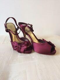 Roland Cartier Plum Heels