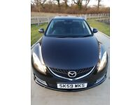 2009 Mazda 6 2.2 diesel-96k!-FSH-HPI clear- Excellent condition