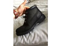 Black Timberlands Boots Mens size 7.5 UK