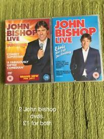 2 John bishop dvds