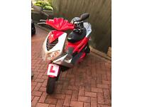 Motorcycle scooter 50cc