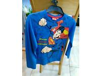 Brand new with tags Official superman long sleeve t-shirt size 128cm 7-8 years.