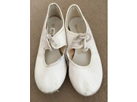 White Tap Shoes & Pink Ballet Shoes