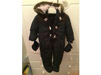 6-9 month boy pram suit