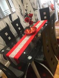 Dining room table and chairs £115.00 ONO