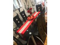 Dining room table and chairs £85 ONO