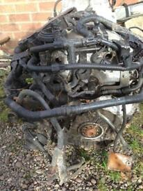 VW vr6 24valve engine with loom