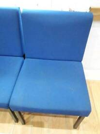 10 reception chairs