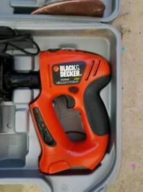 Black & Decker 12V Quattro power drill