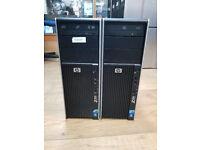 HP Z400 Workstation Intel Xeon-W3505 CPU @2.40GHZ 8GB RAM 500GB HDD Win 7Pro