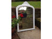 Mirror White Cottage Style