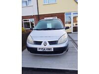 Renault Scenic 1.4 Authentique 5 door MPV. Petrol, Manual, MOT 18th August 2018. Well looked after