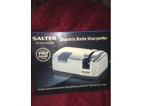 SALTER PRO SHARP Electric Knife Sharpener
