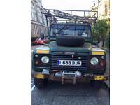 Land Rover 130 Defender tipper with winch (1994)
