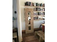 Large Handmade Rustic Mirror/Scaffolding Boards