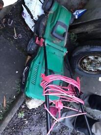 Qualcast lawnmower. Fully working