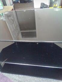 TV glass cabinet £5