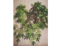 vivarium artificial plants