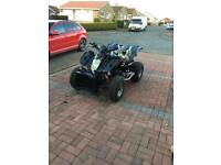 Road legal quad bike with zxr 400 bike engine 👀 may swap... type r clio 172 182 mx5 bikes??