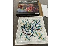 Snakes & Ladders Glass Board