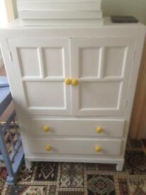 Wooden cabinet in need of more upcycling