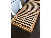 Pull out bed frame