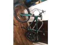 BMX frame mountain bike