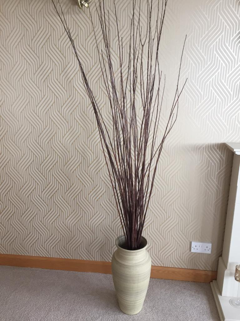 Large vase and wooden twigs in dunfermline fife gumtree large vase and wooden twigs reviewsmspy