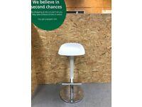 JANINGE Bar stool, white76 cm IKEA Croydon #BargainCorner