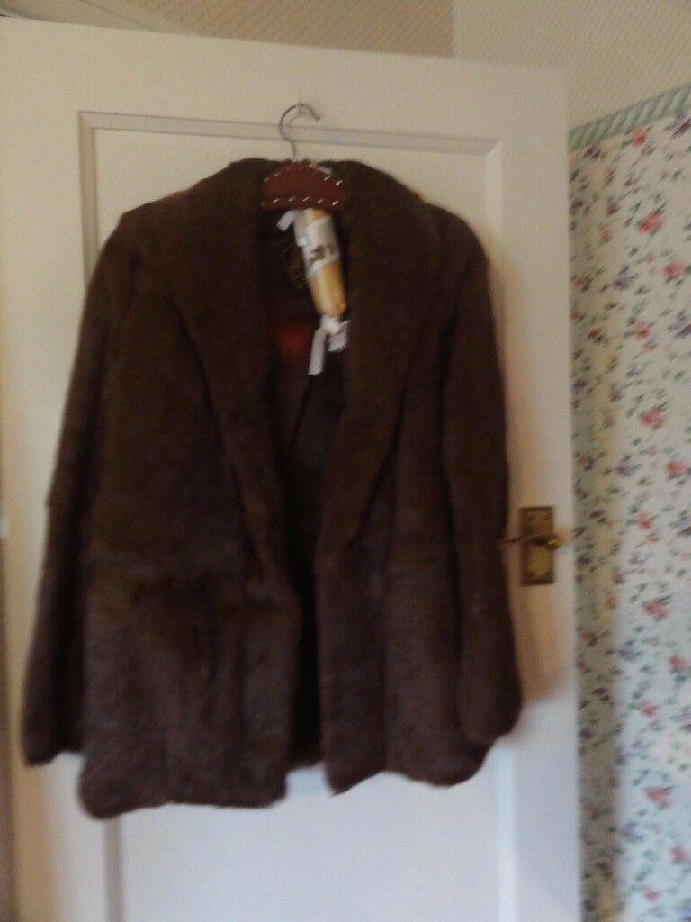 Ladies Fur Coat - size 14