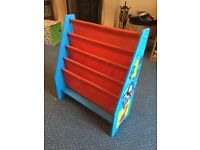 Thomas the Tank Engine 4 tier sling bookcase in excellent condition.