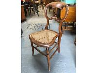 Beautiful small antique bedroom chair in lovely condition