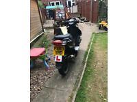 50 cc pulse moped