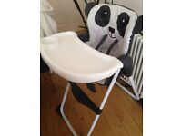 Mothercare Panda High Chair