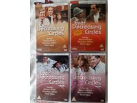 Ever Decreasing Circles Series 1-4 + Christmas Special DVDs