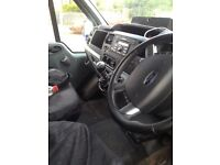 Ford transit silver