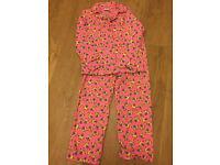 New Pink Minions Despicable Me Flannel Pyjamas for girl 9-10 years. 100% cotton.