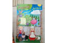 Animal nursery rhymes poster