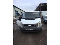 Ford transit factory fitted crew cab swb