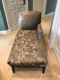 CHAISE LONGUE CHAIR SOFA FROM M&S AS NEW