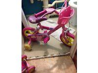 Peppa pig bike & scooter