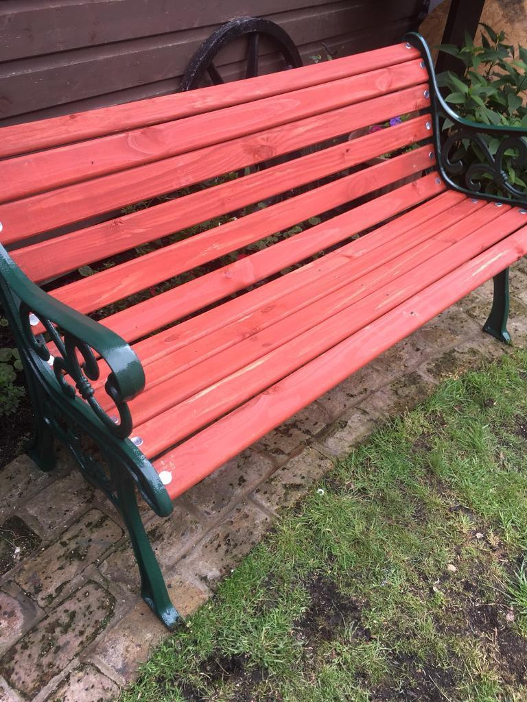 Lovely Garden Bench 58 Inch Long Can Deliver Local For Small Fee