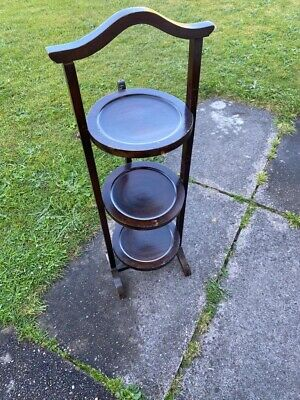 Mahogany Victorian Plate/plant Stand.